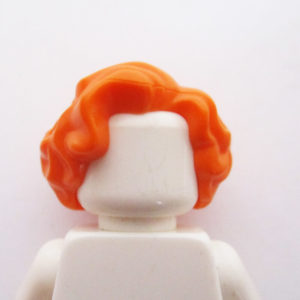 Mid-Length – Wavy w/ Side Parting - Orange