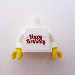 Happy Birthday - Dark Red