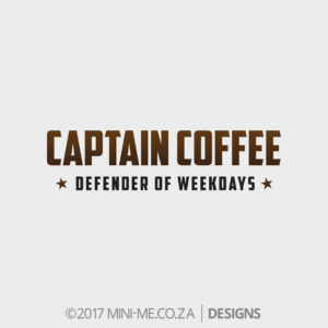 Captain Coffee - Defender Of Weekdays