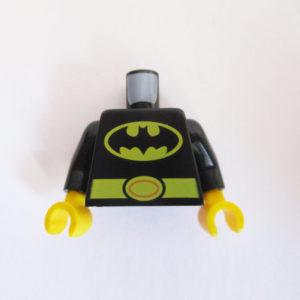 Black w/ Yellow Belt & Batman Logo