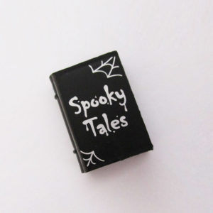 "Book - Black w/ ""Spooky Tales"""