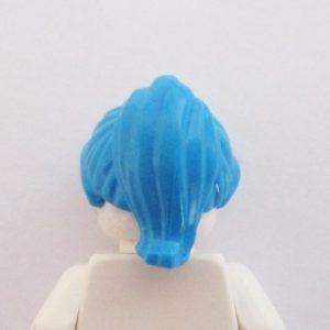 Ponytail – Swept back - Blue