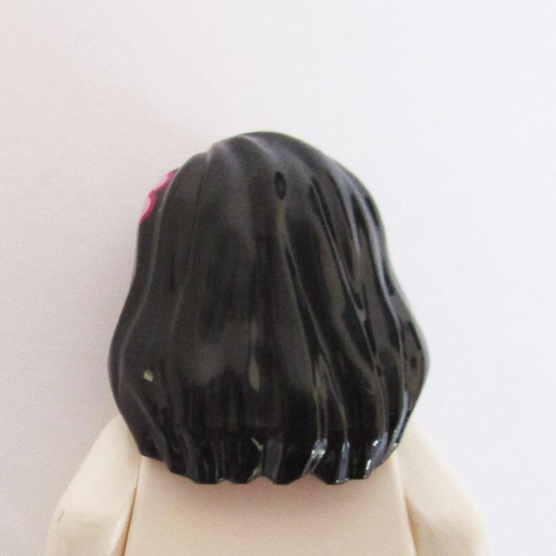 Long w/ Flower - Part down Shoulder
