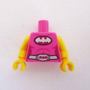 Pink w/ Silver Belt & Batman Symbol