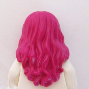 Long & Wavy, 2 Sections in Front - Magenta