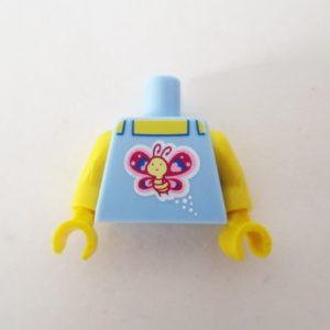 Light Blue Tank Top w/ Butterfly