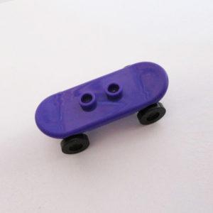 Skateboard - Purple w/ Black Wheels