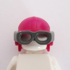 Aviator Cap w/ Goggles - Magenta
