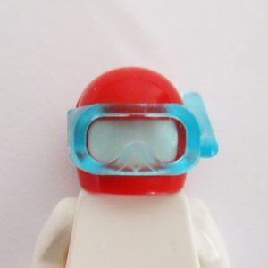 Standard Helm w/ Snorkel - Red