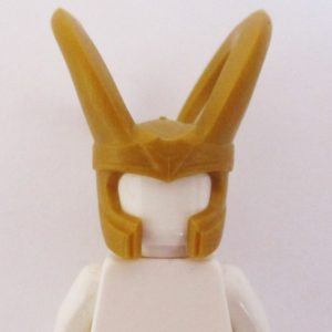Loki Helmet w/ Horns - Gold