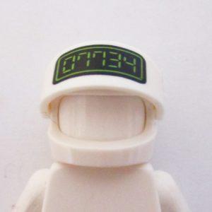 Standard Helm w/ 07734 ( Hello ) - White