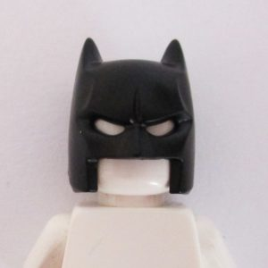 Batman Mask w/ Open Chin - Black