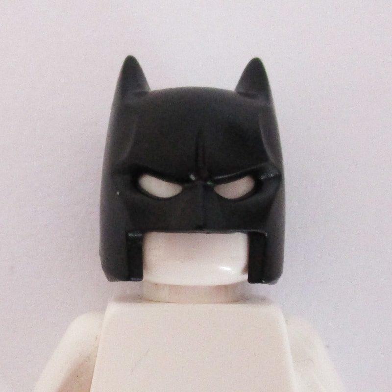 Batman Mask w/ Open Chin - Black