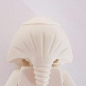 Mummy Headdress - White & Gold