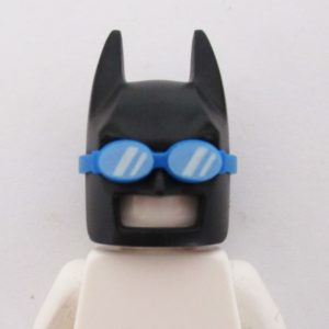 Batman Mask w/ Goggles - Black