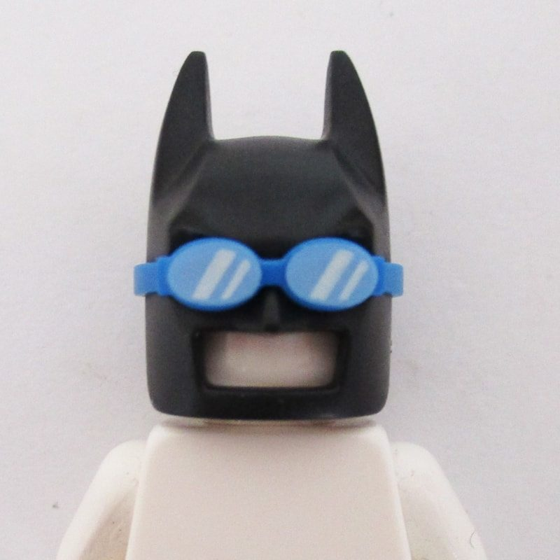 Batman Mask w/ Goggles - Black