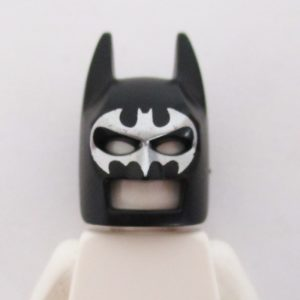 Batman Mask w/ Graphic - Black