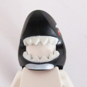 Shark Mask - Black & White