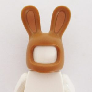 Bunny Mask - Light Brown