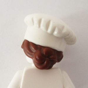Chef/Cook's Hat w/ Brown Hair