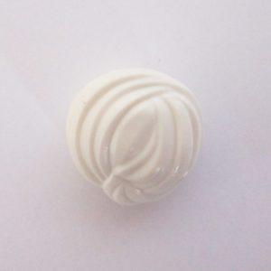 Wrapped Turban - White