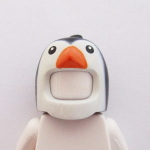 Penguin Mask - Black & White