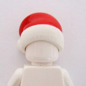 Santa Cap - Red & White