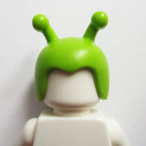 Helm w/ Antenna - Lime Green