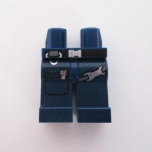 Dark Blue w/ Belt, Straps & Zipped Pocket