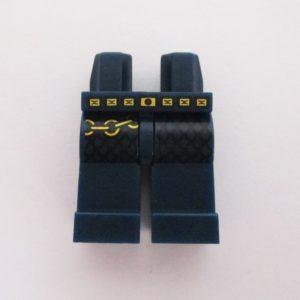 Dark Blue w/ Gold Belt & Chain
