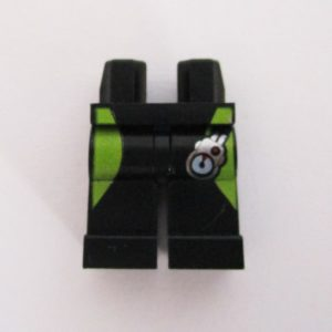 Black w/ Lime Green Stripes & Pressure Gauge