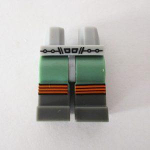 Gray & Sand Green w/ Retro Space Accents