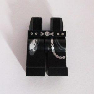 Black w/ Rag, Chain & Skull/Wrench Belt