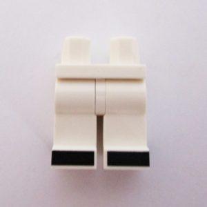 White w/ Black Shoes