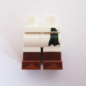 White w/ Green Belt Tie & Brown Boots