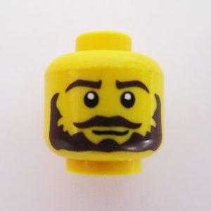 Big Beard & Mustache w/ Straight Face