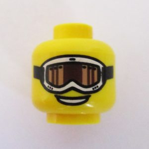 Smile w/ Black & Tan Extreme Sports Goggles