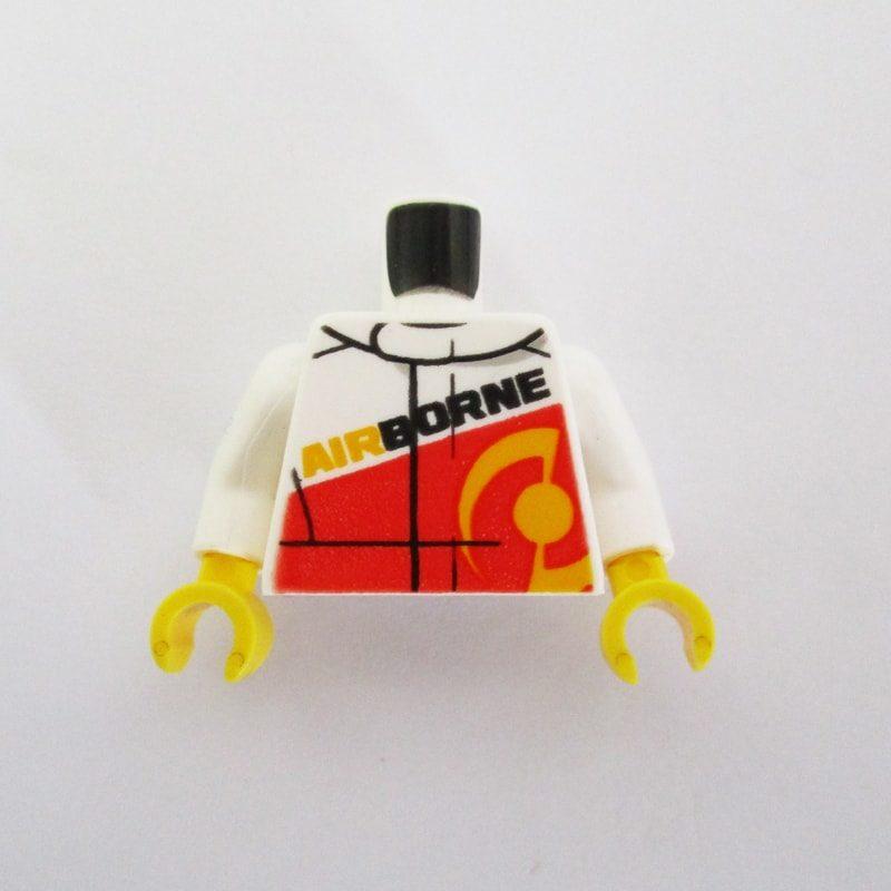White & Red Jacket w/ 'AIRBORNE'