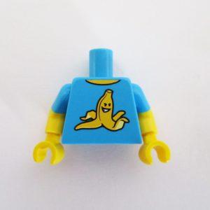 Dark Azure T-Shirt w/ Banana Peel