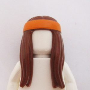 Long w/ Orange Headband