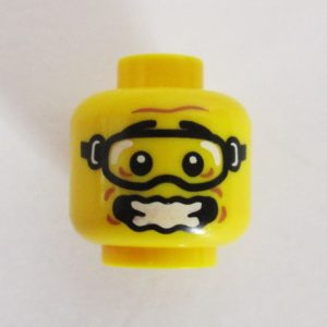 Open Wobbly Mouth w/ Extreme Sports Goggles