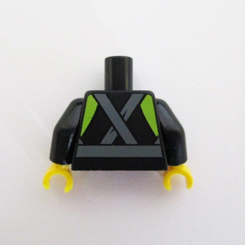 Black w/ Gauges, Belt & Fire Symbol