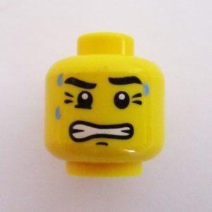 Gritted Teeth w/ Sweat Drops