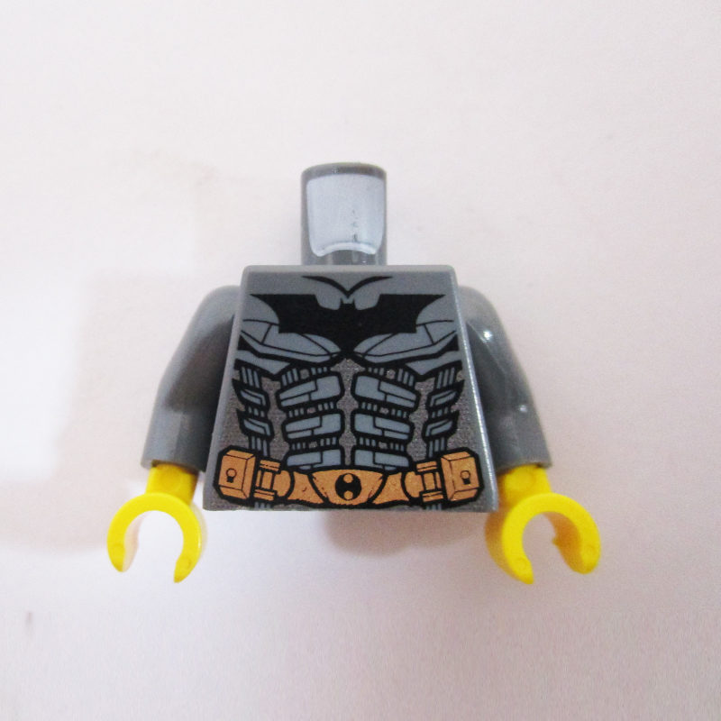 Dark Grey w/ Gold Belt, Armor & Batman Logo