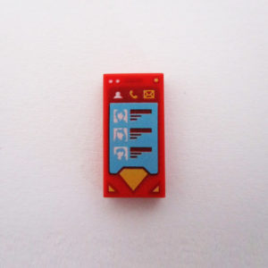 Cellphone - Red w/ Superman Icon