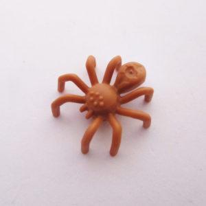 Spider w/ Elongated Abdomen - Light Brown