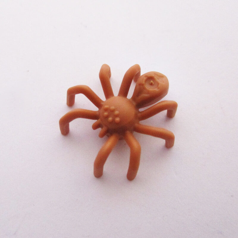 Spider w/ Elongated Abdomen - Light Brown