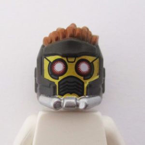 StarLord Helm - Dark Grey