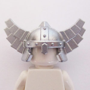 Viking Helm w/ Wings - Silver